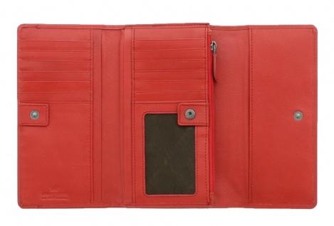 Braun Büffel Geldbörse Soave Rot, 28352 - Vorschau 3
