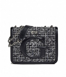 Guess Umhängetasche Chrissy XBody Flap Tweed