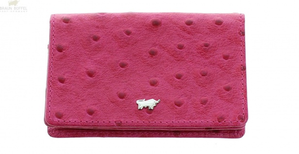 Braun Büffel Kartenetui Kenia pink, 50245
