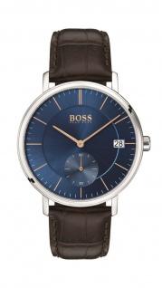 Hugo Boss Herren Uhr Corporal Leder Braun, 1513639
