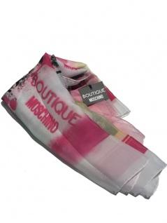 Boutique Moschino Tuch, Weiß / gemustert