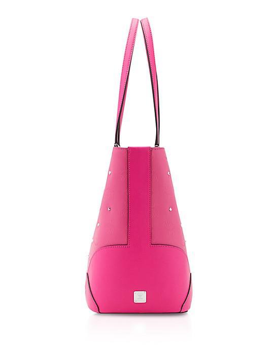 MCM Claudia Studs Shopper medium Pink - Vorschau 3