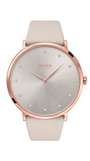 Hugo Boss Damen Uhr Jullian Leder grau, 1502412