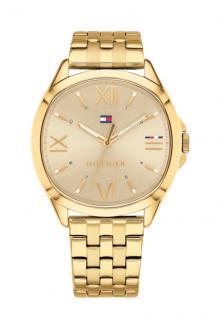 Tommy Hilfiger Damen Uhr Edelstahl gold, 1781889