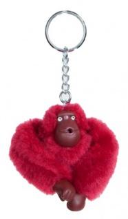 Kipling Taschenanhänger / Schlüsselanhänger, Affe Antonio - dunkelrot - Vorschau