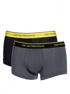 Emporio Armani 2er Set, Basic Stretch Cotton Trunk, 111210