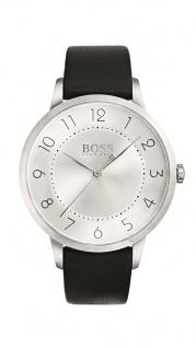 Hugo Boss Damen Uhr Eclipse Leder schwarz, 1502408