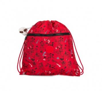 Kipling Turnbeutel Supertaboo, Sketch Red