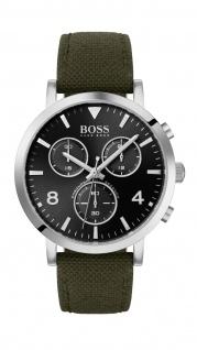 Hugo Boss Herren Uhr Spirit - Casual Nato Schwarz, 1513692