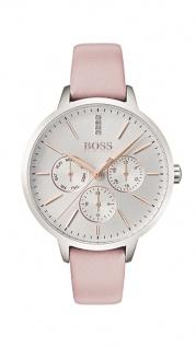 Hugo Boss Damen Uhr Symphony Leder pink, 1502419
