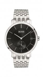 Hugo Boss Herren Uhr Corporal Edelstahl, 1513641
