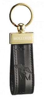 Maison Mollerus Vinerus Black Schlüsselanhänger, Rigi gold