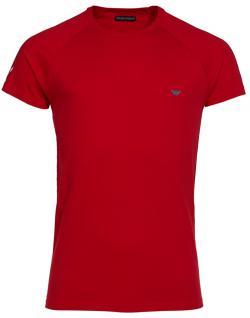 Emporio Armani T-Shirt Anchor rosso, 111231 6P502 - Vorschau 1