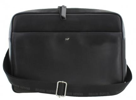 Braun Büffel Messenger Bag / Businesstasche Livorno schwarz, 67167