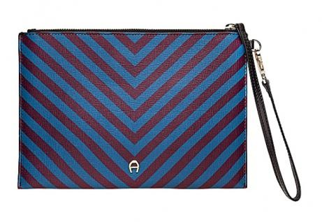Aigner Clutch Genoveva Medina, Multicolor / Stripes 163097