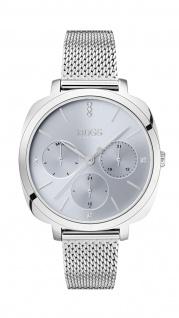 Hugo Boss Damen Uhr Seduction - Business Edelstahl Silber, 1502491