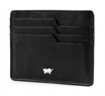 Braun Büffel Kartenetui Golf Secure schwarz, 90013