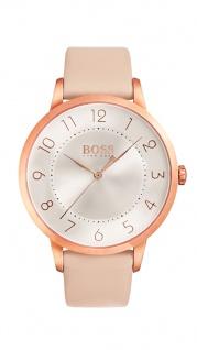 Hugo Boss Damen Uhr Eclipse Leder pink, 1502407