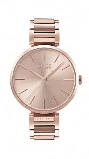 Hugo Boss Damen Uhr Allusion Edelstahl carnation, 1502418