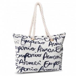 Emporio Armani Shopper / Strandtasche, Weiß 262653