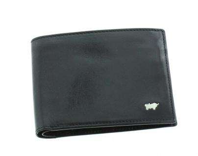 Braun Büffel Geldbörse Gaucho Querformat schwarz, 33111
