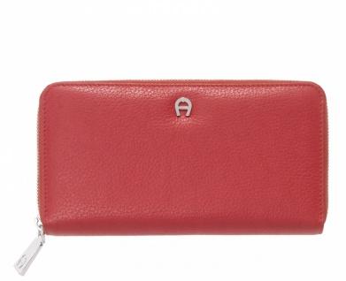 Aigner Portemonnaie groß, Rot 156584