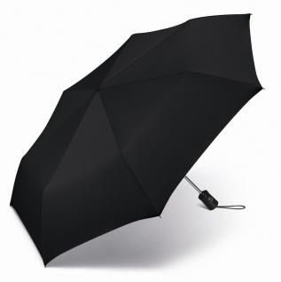 Happy Rain Taschenschirm Up &ampsemik Down autom. einfarbig, 46850