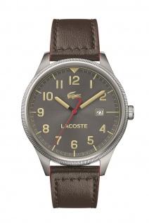 Lacoste Herren Uhr Lacoste Continental Leder Braun, 2011020