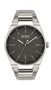 Hugo Boss Herren Uhr Magnitude Edelstahl silber, 1513568