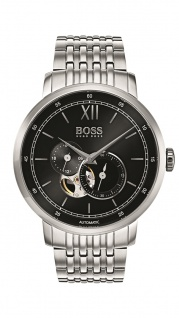 Hugo Boss Herren Uhr Signature Timepiece Edelstahl, 1513507