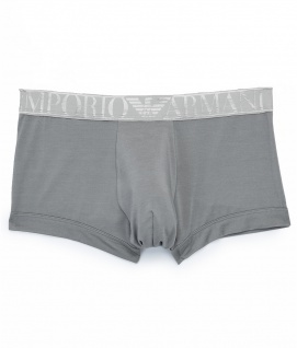 Emporio Armani Basic Stretch Cotton Trunk, Silber 111389