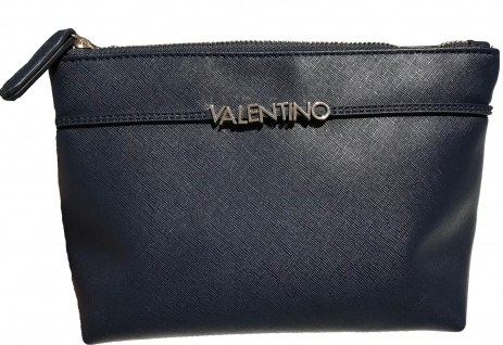 Valentino Kosmetiktasche Sea groß, Blu