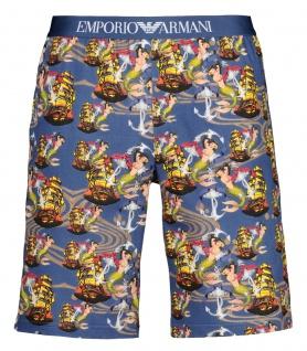 Emporio Armani Herren Bermuda Shorts, Blau 111004