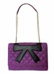 Boutique Moschino Schultertasche, purple