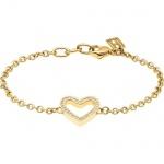 Tommy Hilfiger Damen Armband Edelstahl, gold 2700624