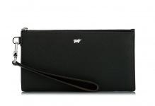 Braun Büffel Oaxaca Wristlet, Leder schwarz, 500-010