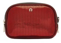Aigner Fashion Clutch / Kosmetikbeutel S, Metallic Rot 163063