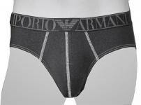 Emporio Armani Stretch Cotton Slip, 110814 5A527 Jeansoptik schwarz