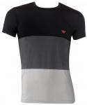Emporio Armani Men Shirt, nero/roccia/nebbia