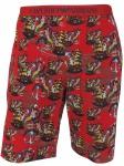 Emporio Armani Herren Bermuda Shorts, rosso stampato 111004 6P502 Größe L