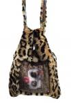 Mucho Gusto Handbag / Umhängetasche Ancona Animal print, A82AN0200