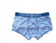 Emporio Armani Stretch Cotton Trunk, gestreift, 111389- Gr. L
