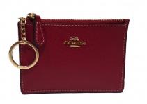 Coach Mini Portemonnaie / Schlüsseletui rot, 37387B