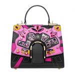 Aigner Handtasche Jada Bag S, 133639 schwarz/ pink
