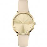 Lacoste Damen Uhr Moon Leder beige, 2001030
