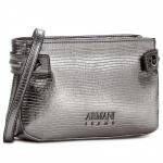 Armani Jeans Umhängetasche 922298, metallic/silber