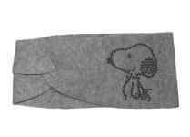 Codello Stirnband Snoopy, Light Grey 82118808