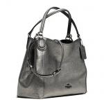 Coach Shoulder Bag Edie small, Gunmetal 36101
