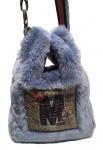 Mucho Gusto Handbag / Umhängetasche Ancona Blau, A82AN2230
