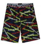 Emporio Armani Herren Bermuda Shorts, EA marine stampato 111004 6P508